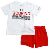 Under Armour Baby Boys Two-Piece Logo Tee and Shorts Set