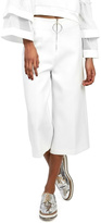 Gracia White Wide Pants
