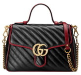 Gucci Small GG 2.0 Matelasse Leather Top Handle Bag
