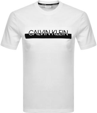 Calvin Klein Logo T Shirt White
