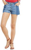 Gianni Bini Charlene Two Toned Denim Shorts
