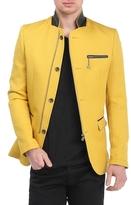 Zip Button Jacket