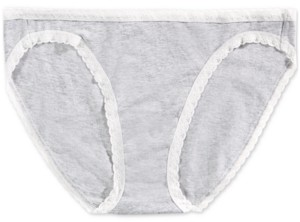 Jenni Women's Lace-Trim Bikini Underwear, Created for Macy's