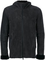 Giorgio Brato hooded jacket - men - Sheep Skin/Shearling - 48
