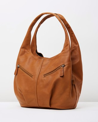 Bee Women's Brown Leather bags - Catalina Bag - Size One Size at The Iconic