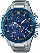 G-Shock Men's Stainless Steel Bracelet Smartwatch 52x48mm EQB500DB-2A