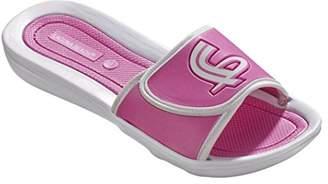Kurt Geiger BECO Beermann GmbH & Co. Women's Pantoletten Mit Klettverschluß-90322 Mules, Pink (Pink 4)
