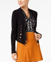 XOXO Juniors' Embellished Open-Front Blazer