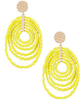 Anna & Ava Beaded Swirl Drop Earrings