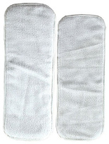 Luvable Friends White Reusable Diaper Insert Set