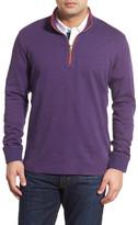 Robert Graham Reversible Quarter Zip Sweater