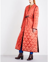 Roksanda Toledo satin-finish quilted coat