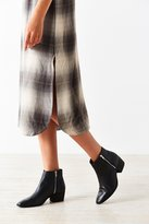 Stef Double Zipper Ankle Boot