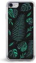 Zero Gravity Fern Embroidered Iphone Case - Black