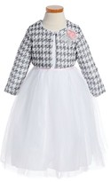 Girl's Pippa & Julie Tulle Party Dress & Jacket