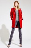 Current/Elliott Charlotte Gainsbourg for V-Neck Silk Blouse