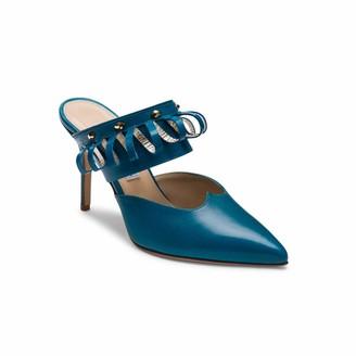Alexis Isabel Lumi Turquoise Mules