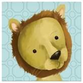Oopsy Daisy Fine Art For Kids Rauri the Lion Canvas Wall Art