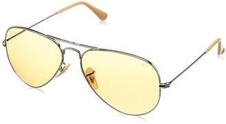 Ray-Ban RB3025 Aviator Large Metal Evolve Photochromic Sunglasses