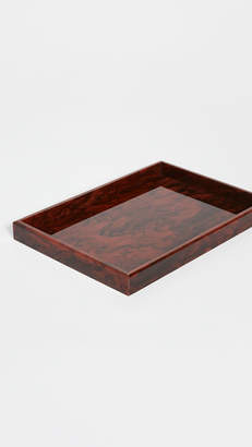 Edie Parker Solid Tray In Acrylic