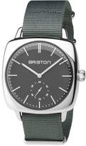 Briston Clubmaster Vintage Chronograph Watch, Gray