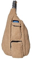 Kavu Mini Rope Fleece (Driftwood) Cross Body Handbags
