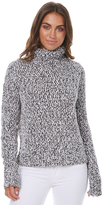 Rip Curl Sailor Roll Neck Womens Knit Grey