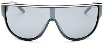 Marc Jacobs Unisex Marc Wraparound Shield Sunglasses, 149mm