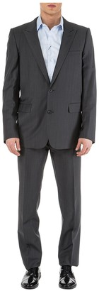 Christian Dior Two Piece Two Toned Patterned Suit