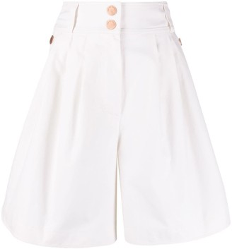 See by Chloe High Waisted Wide Leg Shorts