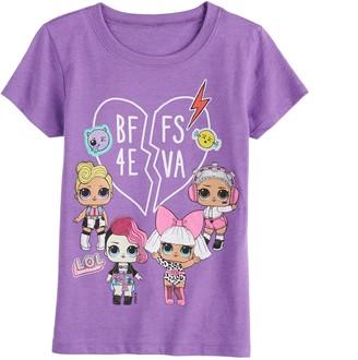 Freeze Girls 7-16 LOL Surprise BFF 4 Eva Short Sleeve Tee