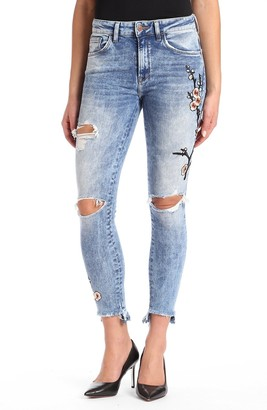 Mavi Jeans Women's Tess Super Skinny High Rise
