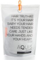 Aquis Luxe Hair Turban, Chevron