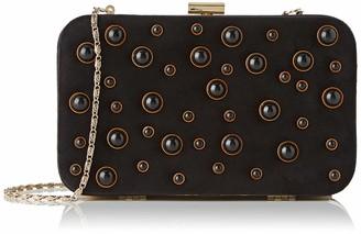El Caballo Clutch Aramal Womens Top-Handle Bag Black (Negro) 6x14x21 cm (W x H L)