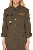 Willow & Clay Army Patch Jacket