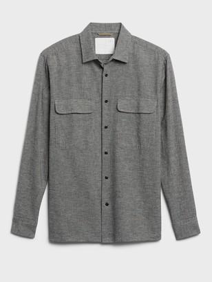 Banana Republic Heritage Flannel Shirt Jacket