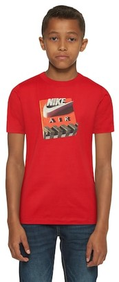 Nike 3D Shoe Box T-Shirt - Red / No Color