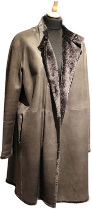 Brunello Cucinelli Brown Leather Coats
