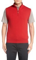 mens red wool vest - ShopStyle