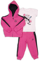Puma 3-pc. Bodysuit Set-Toddler Girls
