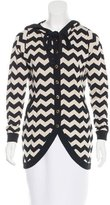 ALICE by Temperley Hooded Button-Up Cardigan
