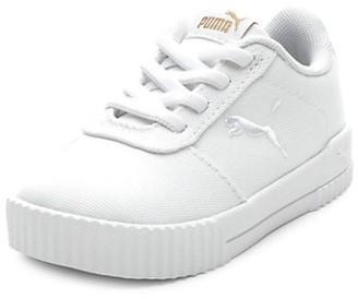 Puma Kid's Carina Canvas Sneakers