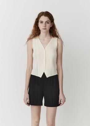 Pleats Please Issey Miyake Pleated Vest