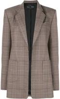 Proenza Schouler Plaid Suiting Blazer
