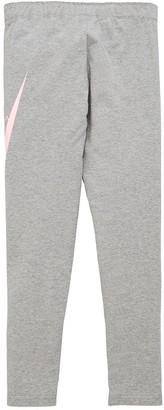 Nike Girls NSW Favorites GX Legging - Grey/Pink