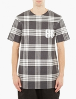 Helmut Lang Oversized Plaid T-shirt