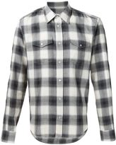 Maison Margiela casual checked shirt