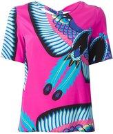 P.A.R.O.S.H. printed blouse