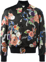 Saint Laurent lightweight Love teddy jacket - men - Silk/Cotton/Polyamide/Viscose - 48