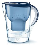 Brita Marella XL Water Filter Jug and Cartridge, Blue